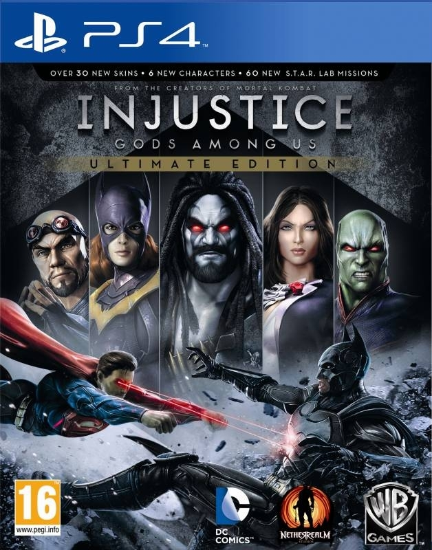Injustice Gods Among Us Ultimate Edition PL (PS4)