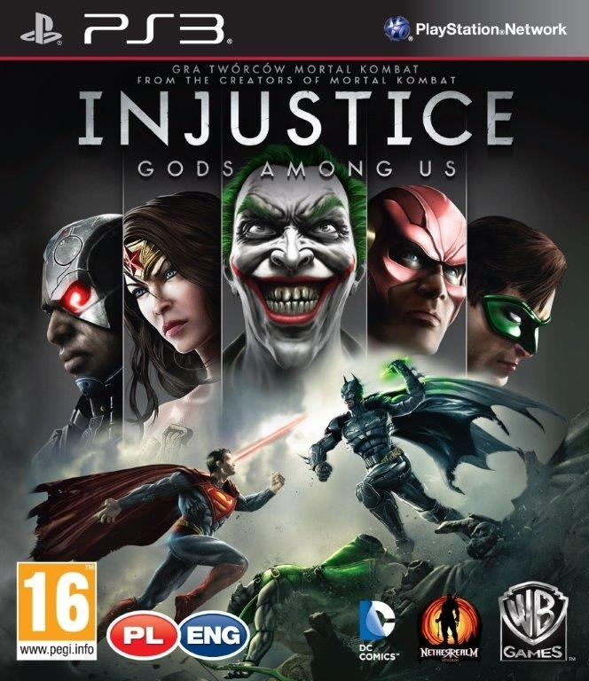 Injustice Gods Among Us ANG / PL (PS3)