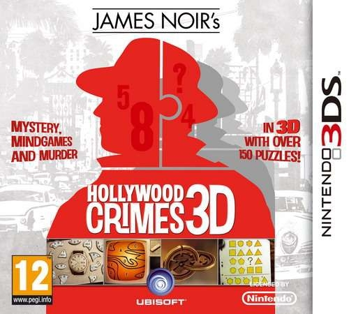 James Noir's Hollywood Crimes 3D (DS)