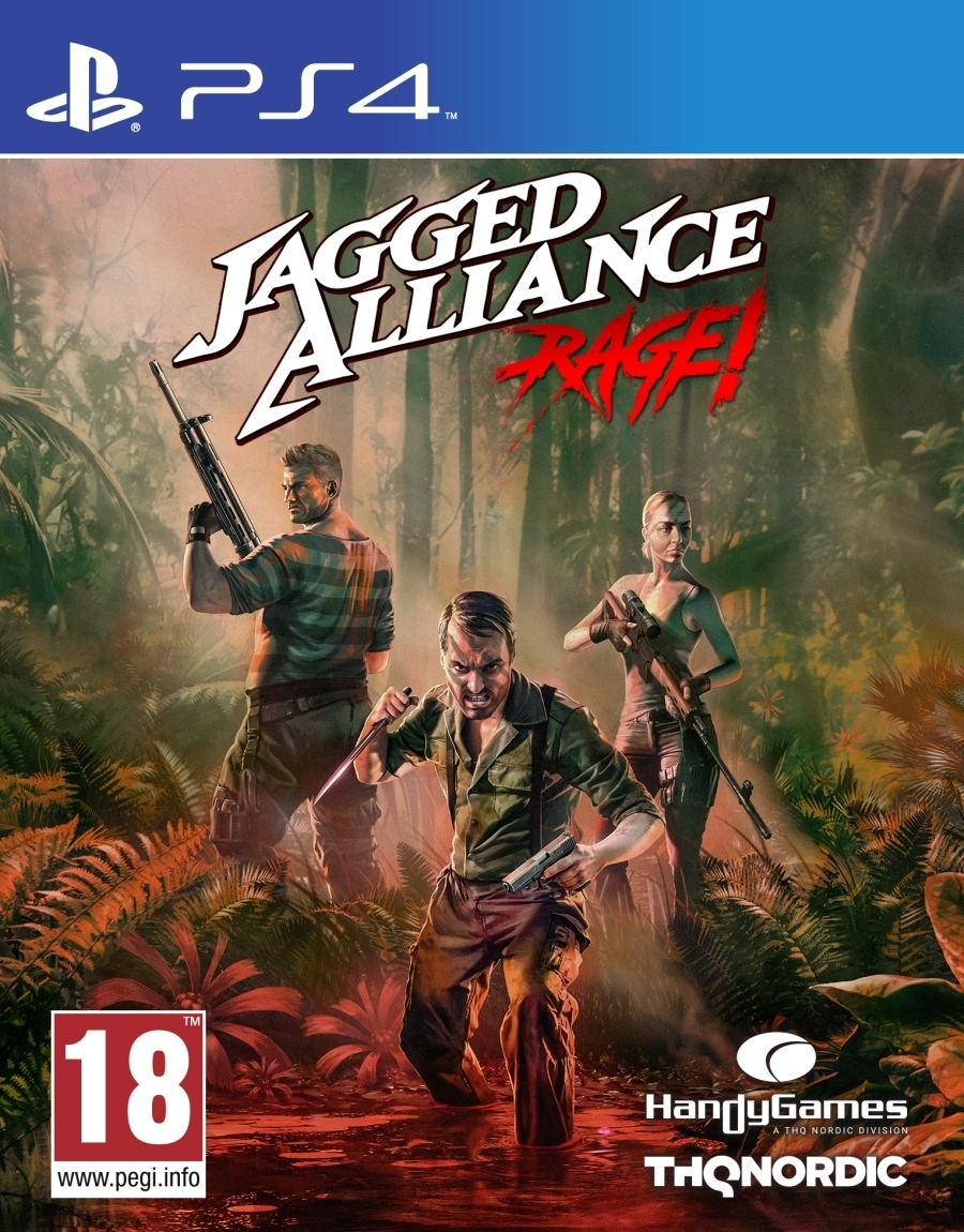 Jagged Alliance Rage (PS4)