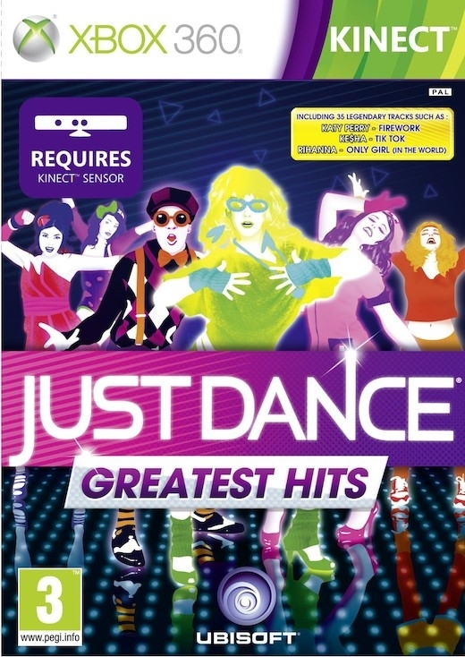 Just Dance Greatest Hits Kinect (Xbox 360)