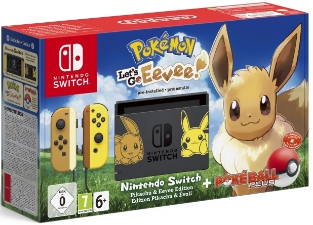 Konsola Nintendo Switch Let's go Eevee