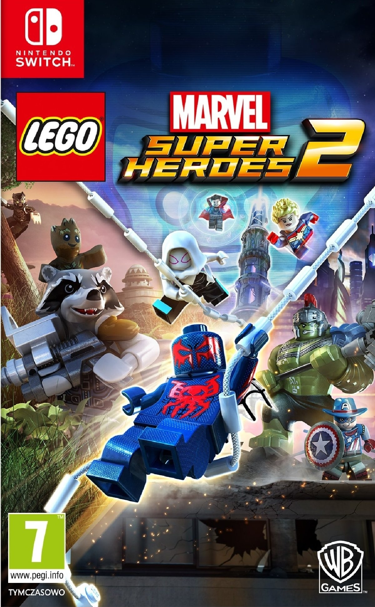 LEGO Marvel Super Heroes 2 PL  Nintendo Switch