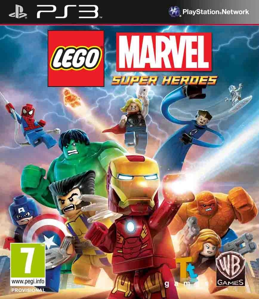 LEGO Marvel Super Heroes PL/ANG (PS3)
