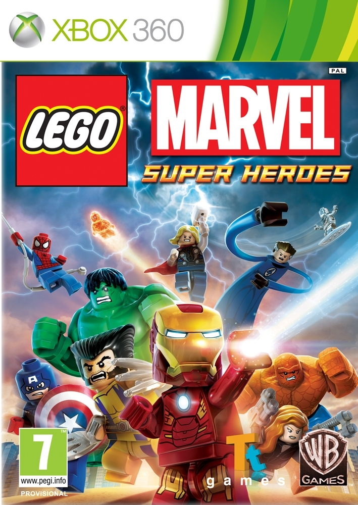 LEGO Marvel Super Heroes PL/ANG (Xbox 360)