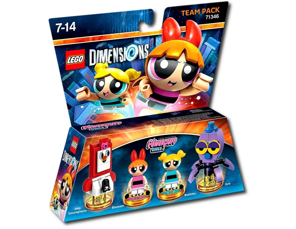 Lego Dimensions Atomówki 71346 Team Pack
