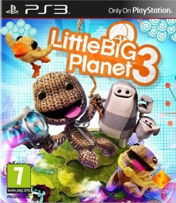 LittleBigPlanet 3 / Little Big Planet 3 PL (PS3)