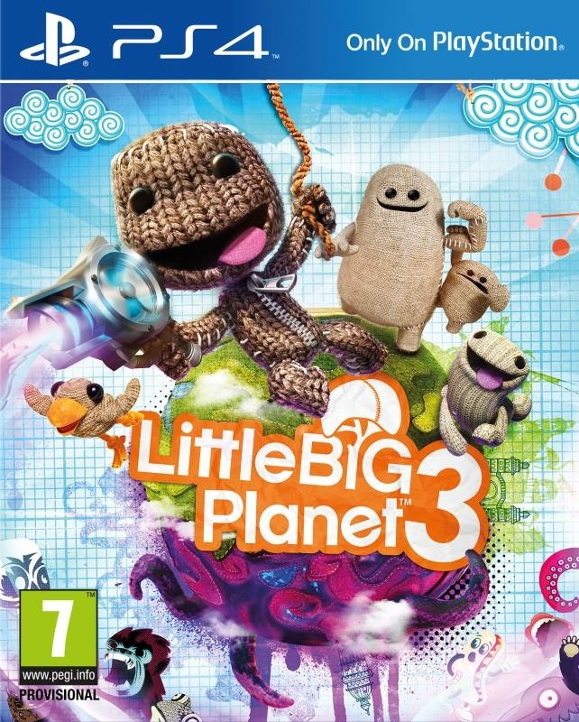 LittleBigPlanet 3 / Little Big Planet 3 PL (PS4)
