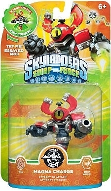 Figurka Skylanders Swap Force - MAGNA CHARGE (PS3, Xbox 360, WiiU, Wii, 3DS)