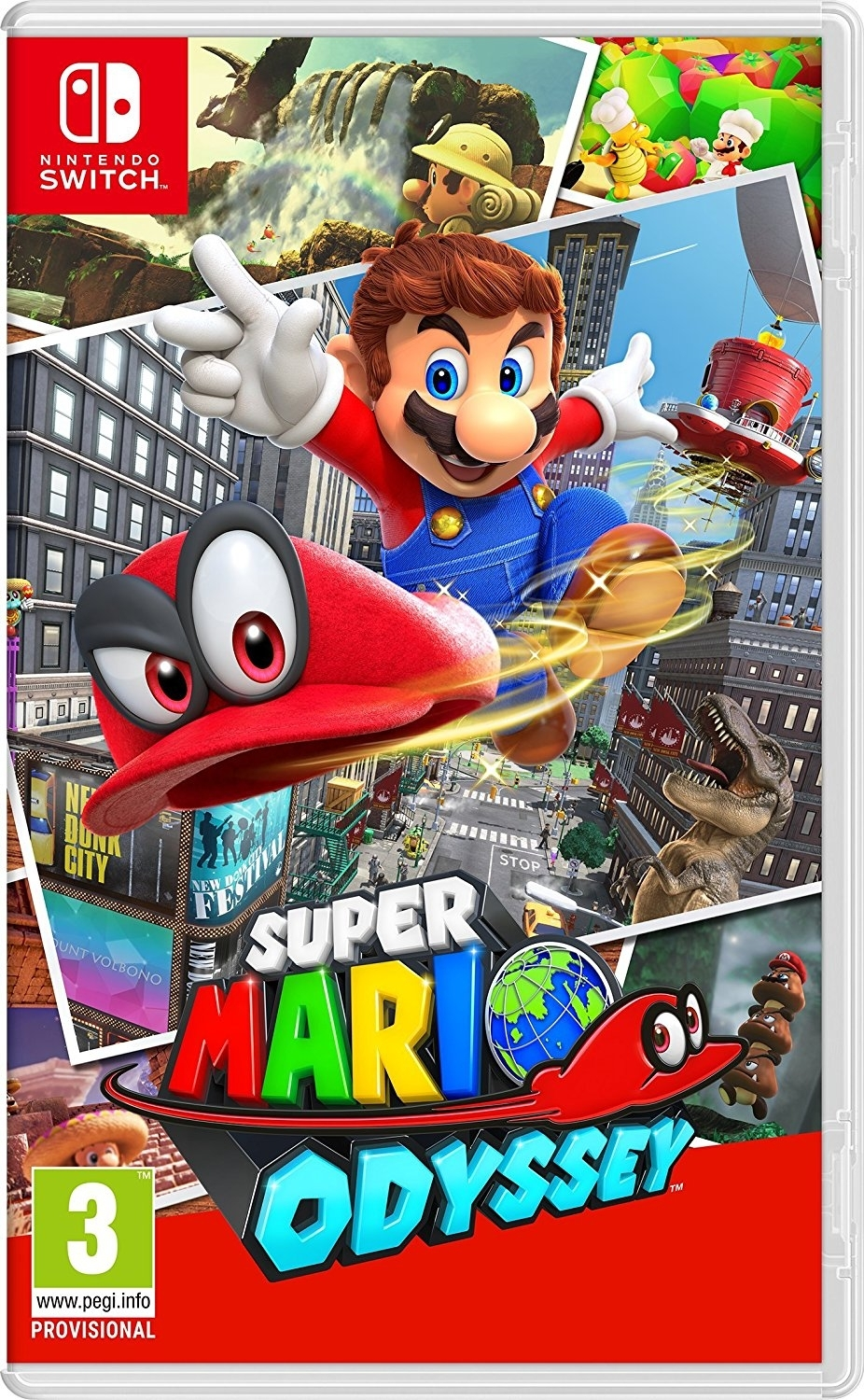 Super Mario Odyssey Nintendo Switch / (BLACK FRIDAY)