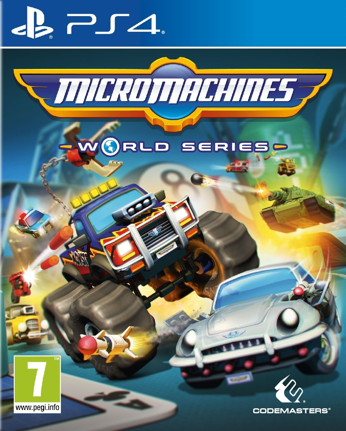 Micro Machines World Series PL (PS4)