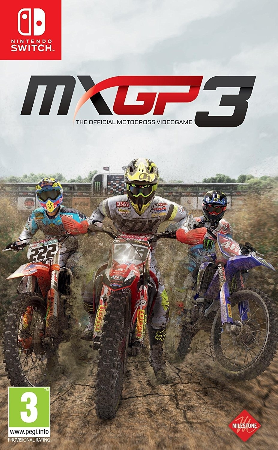 MXGP 3 The Official Motocross Video game Nintendo Switch