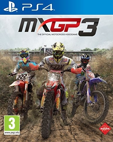 MXGP3: The Official Motocross Videogame (PS4)