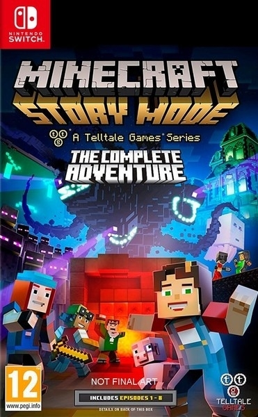 Minecraft Story Mode The Complete Adventure Nintendo Switch