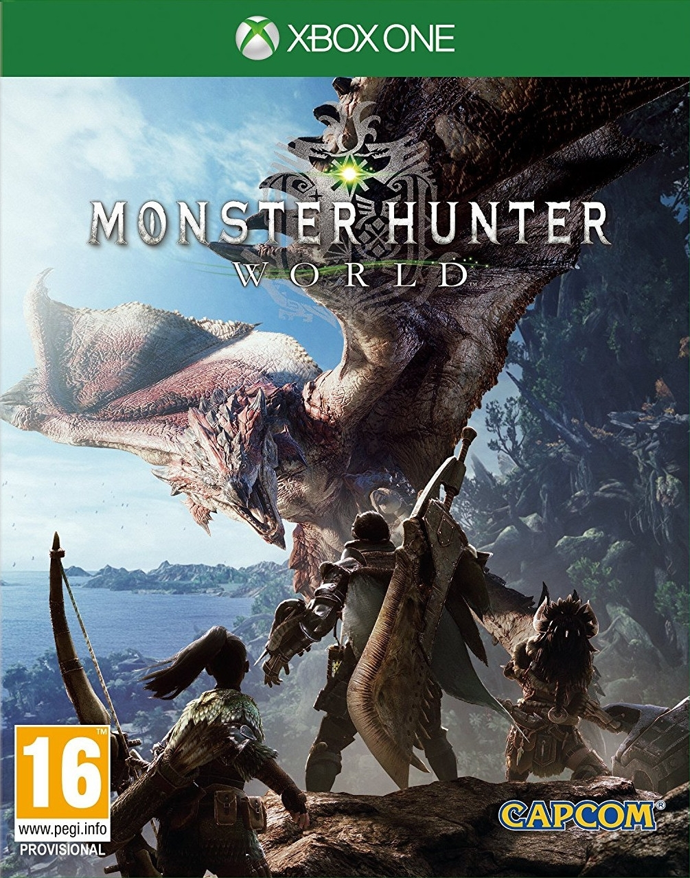 Monster Hunter World PL (Xbox One)