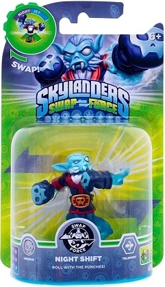 Figurka Skylanders Swap Force - NIGHT SHIFT (PS3, Xbox 360, WiiU, Wii, 3DS)
