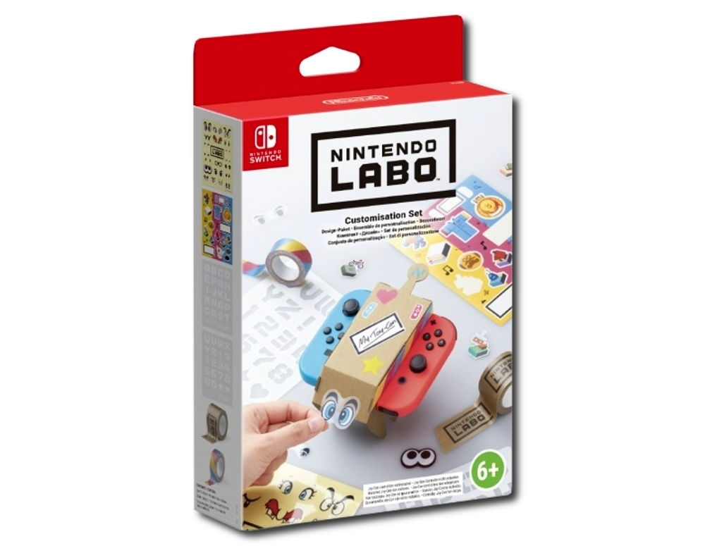 Nintendo Labo Customisation Set Kit (Nintendo Switch)