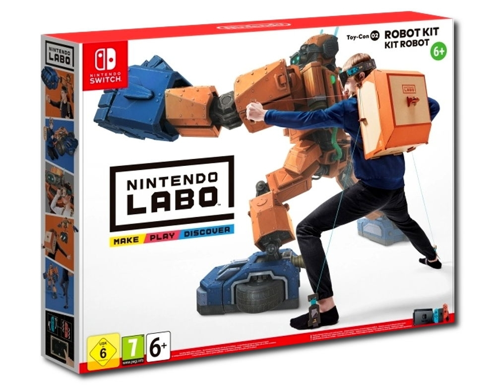 Nintendo Labo Robo Kit (Nintendo Switch)