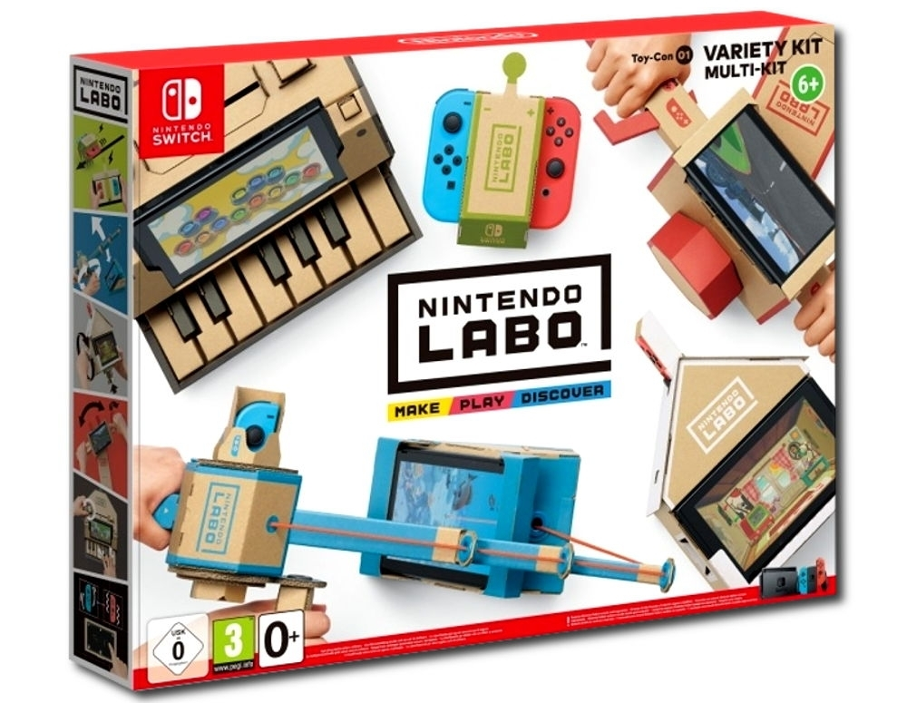 Nintendo Labo Variety Kit (Nintendo Switch)