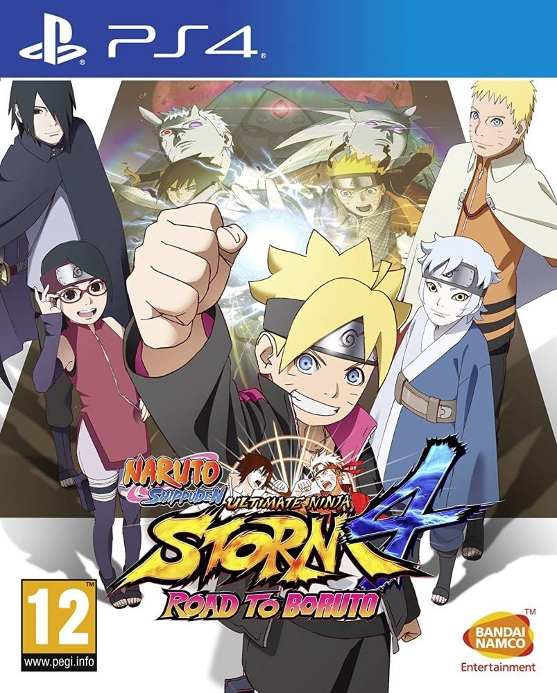 Naruto Shippuden Ultimate Ninja Storm 4 Road to Boruto (PS4)