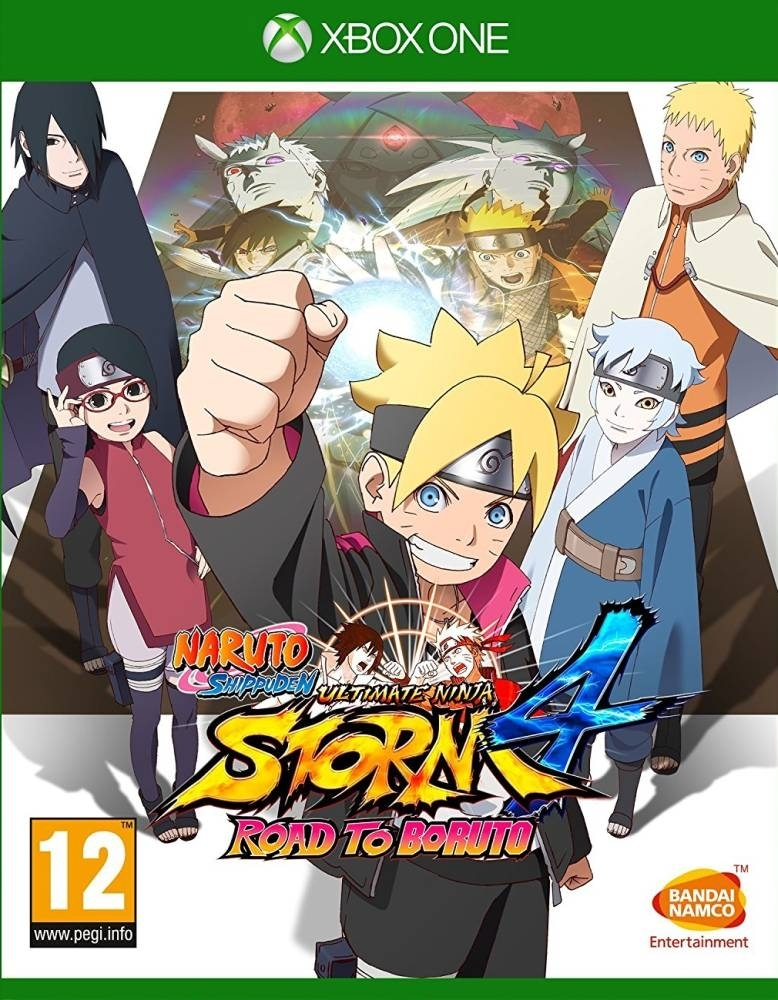 Naruto Shippuden Ultimate Ninja Storm 4 Road to Boruto (Xbox One)