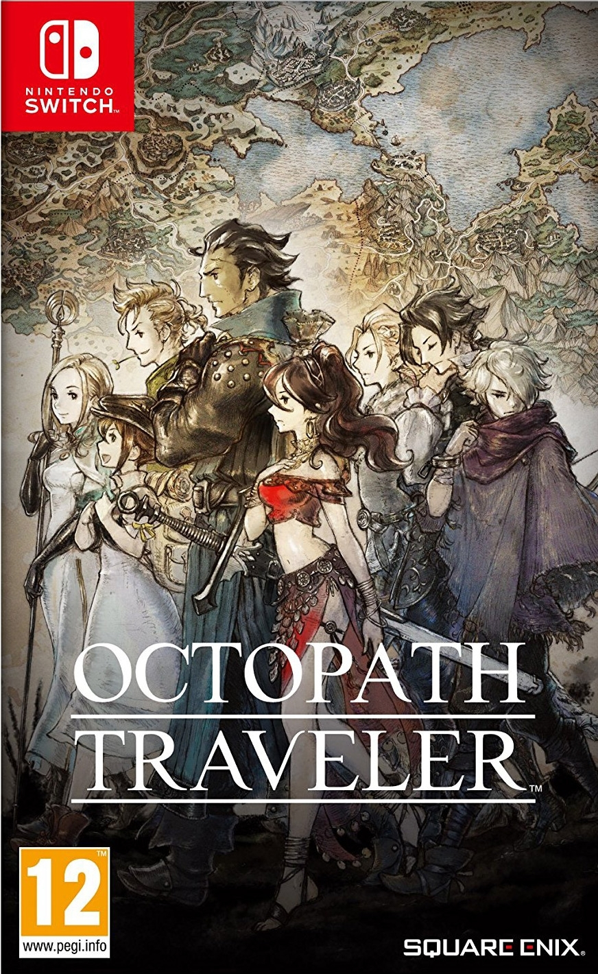Octopath Traveler Nintendo Switch (BLACK FRIDAY)