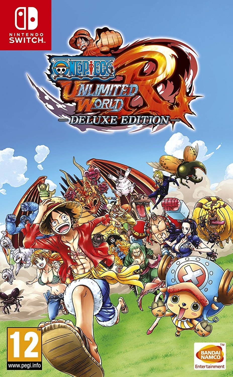 One Piece Unlimited World Red - Deluxe Edition Nintendo Switch