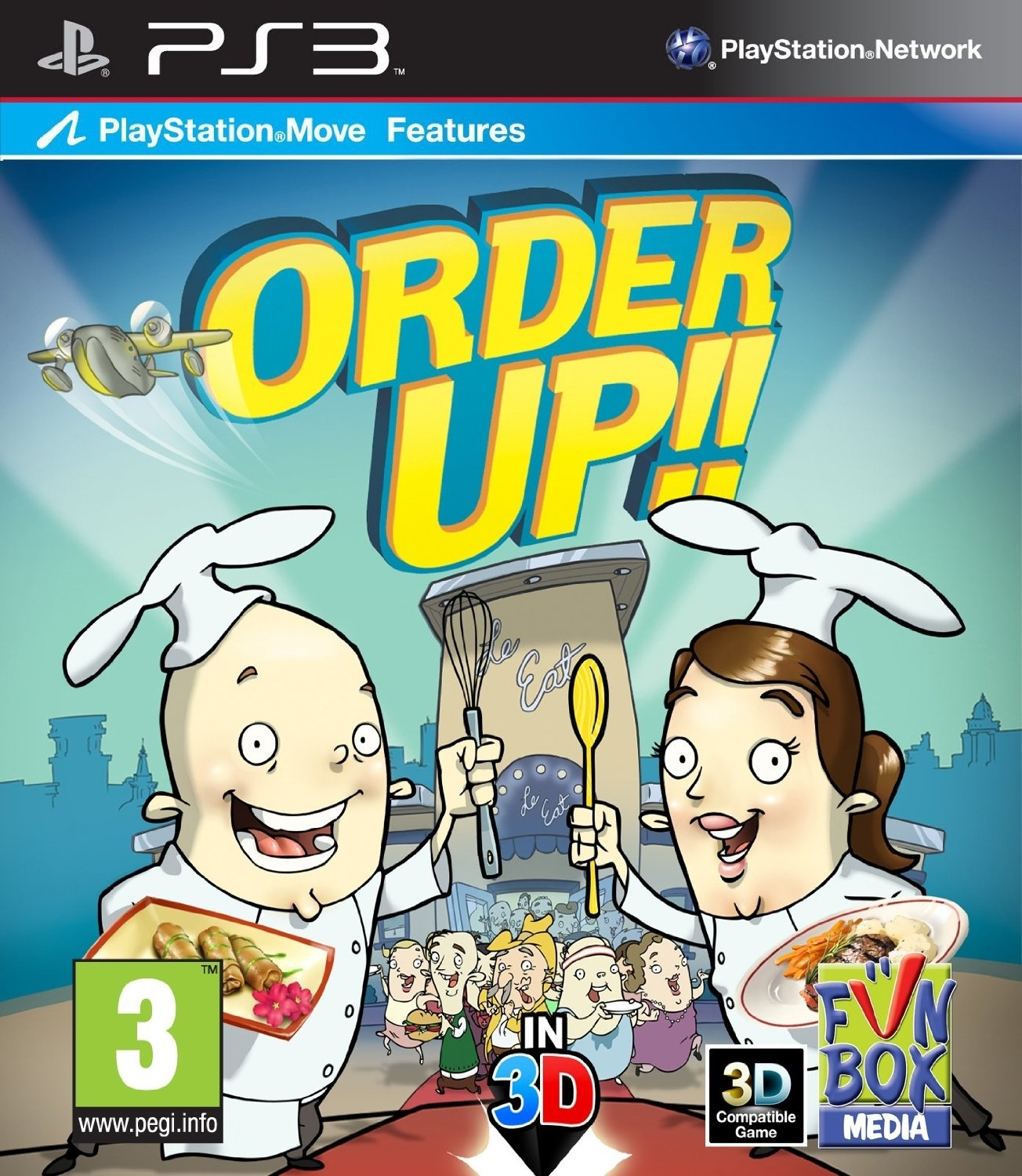 Order Up!! Move (PS3)