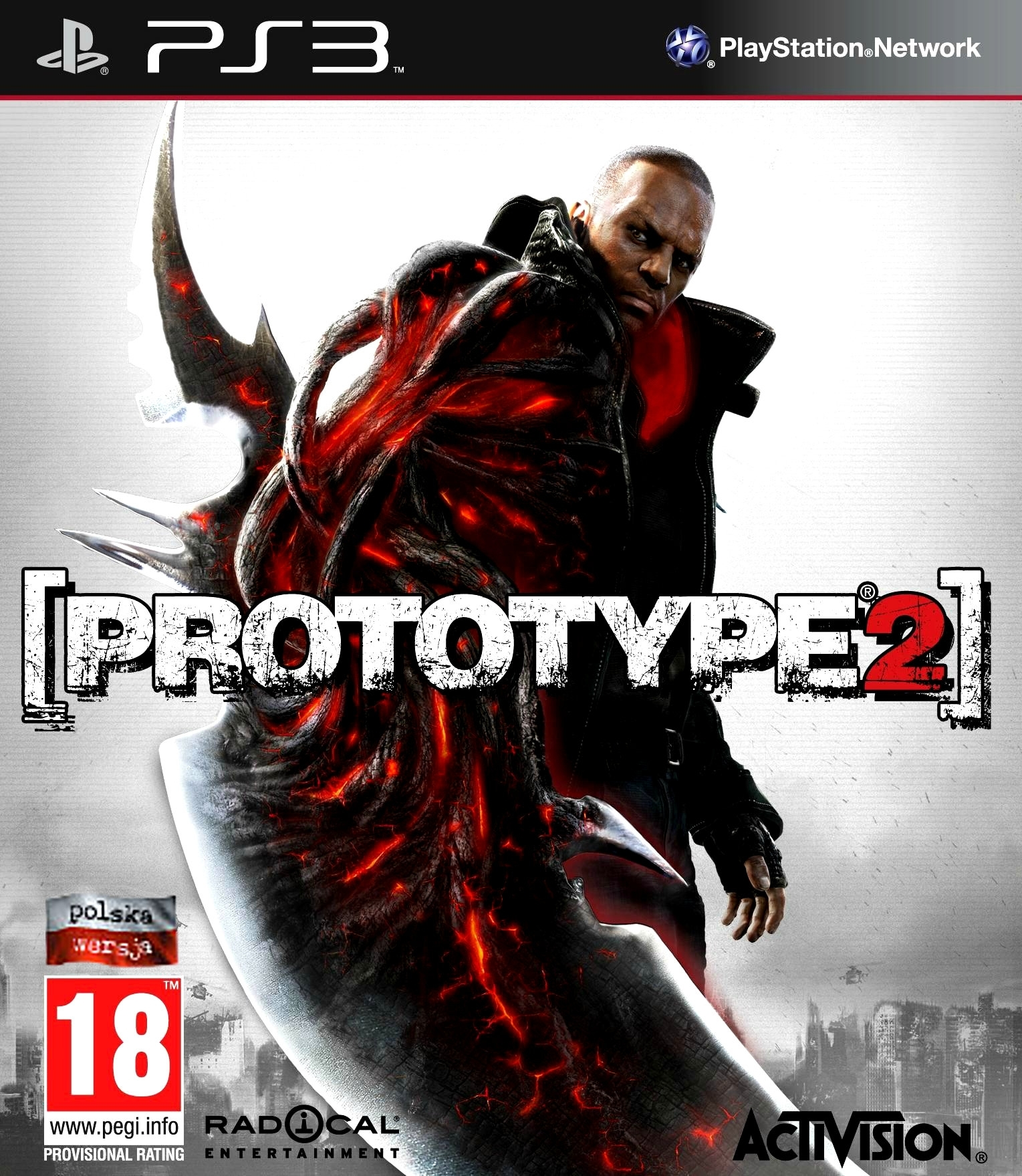 Prototype 2 PL (PS3)
