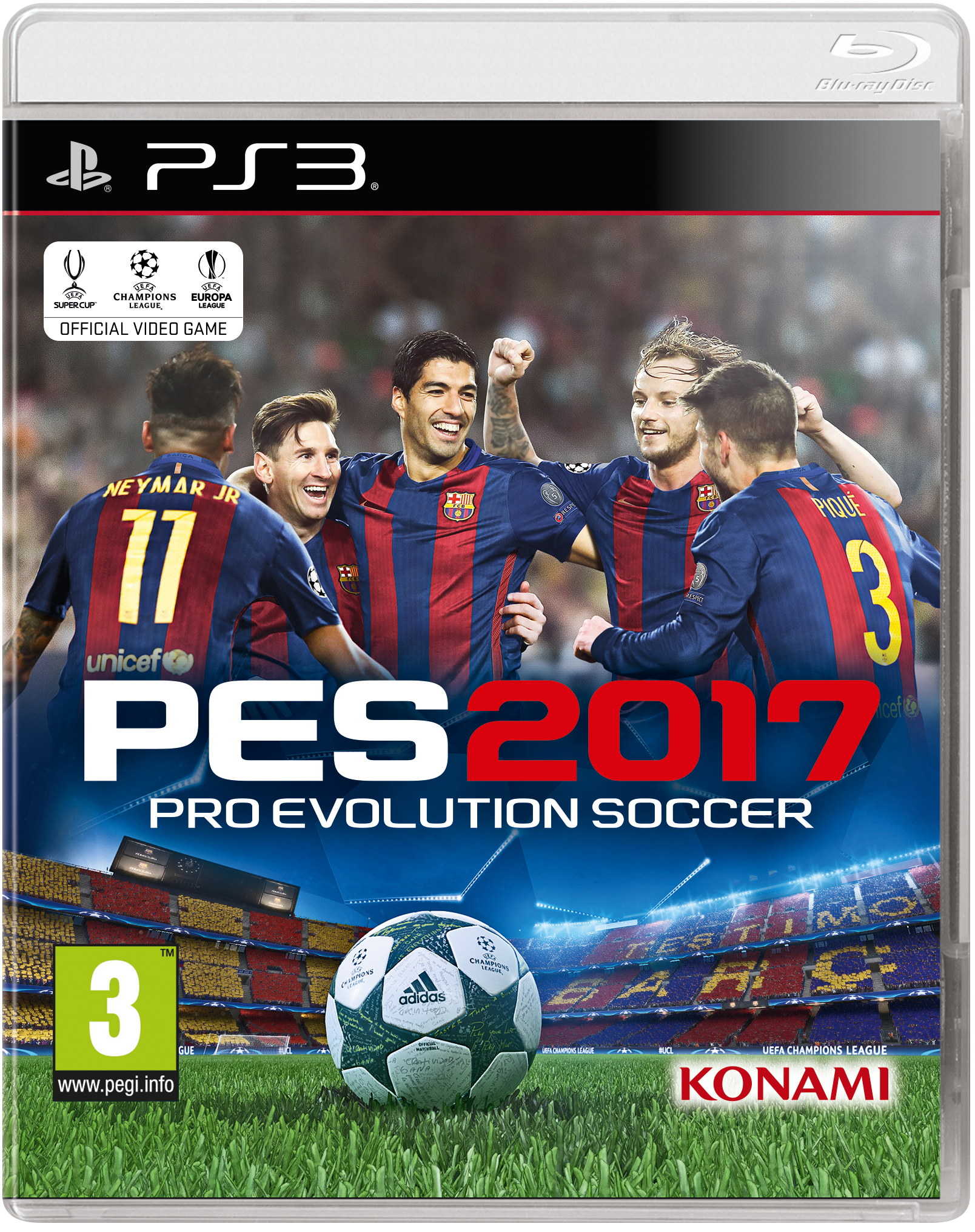 PES 17 Pro Evolution Soccer 2017 PS3