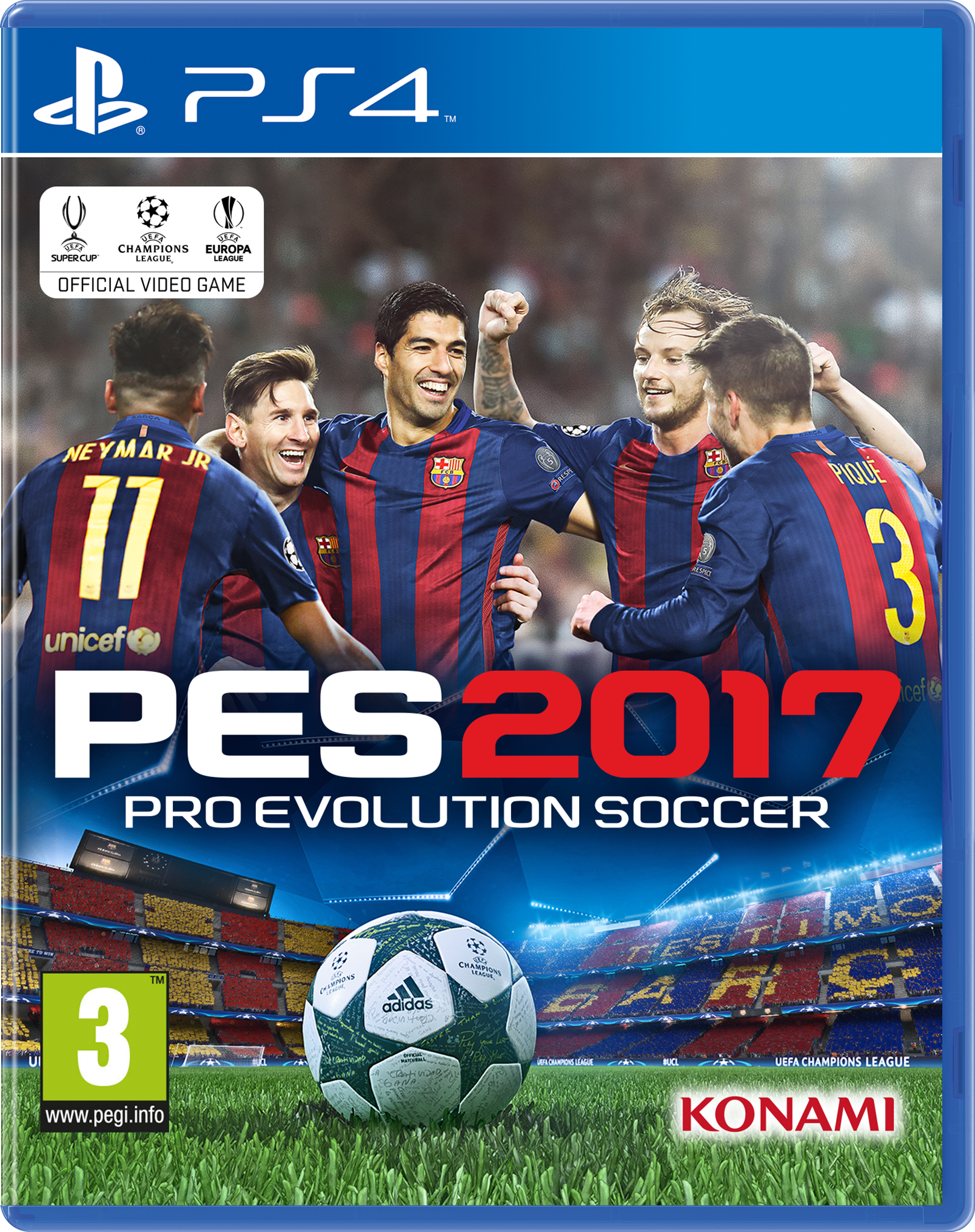 PES 17 Pro Evolution Soccer 2017 PS4
