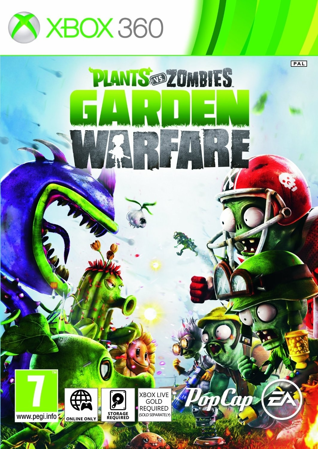 Plants Vs Zombies Garden Warfare (Xbox 360)