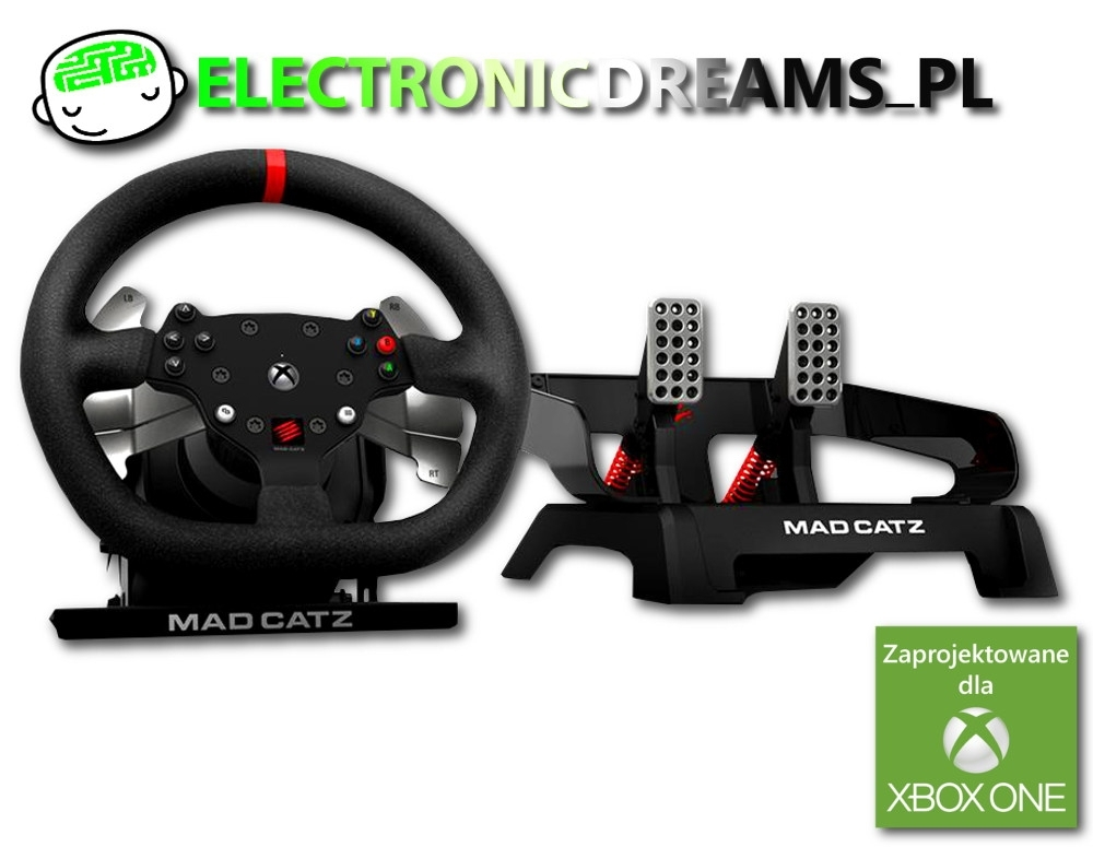 Kierownica Mad Catz Pro Racing Force Feedback (Xbox One)