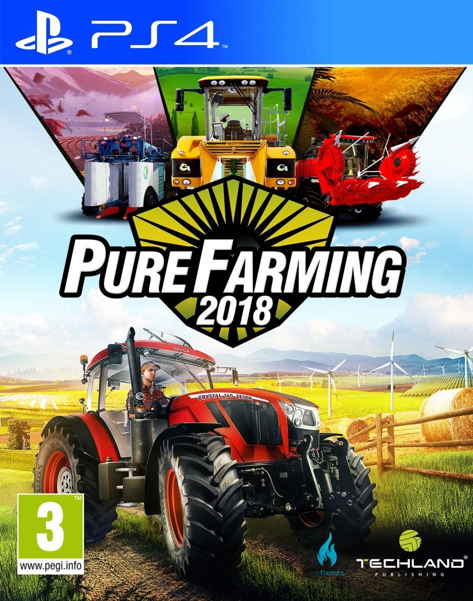 Pure Farming 2018 PL + DLC (PS4)