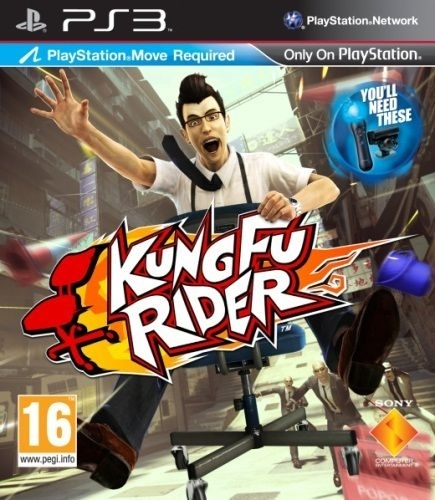 Kung Fu Rider PL Move (PS3)