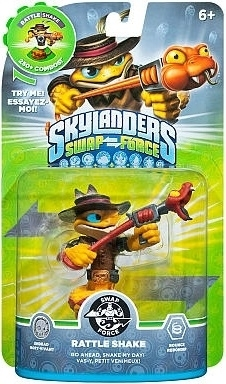 Figurka Skylanders Swap Force - RATTLE SHAKE (PS3, Xbox 360, WiiU, Wii, 3DS)