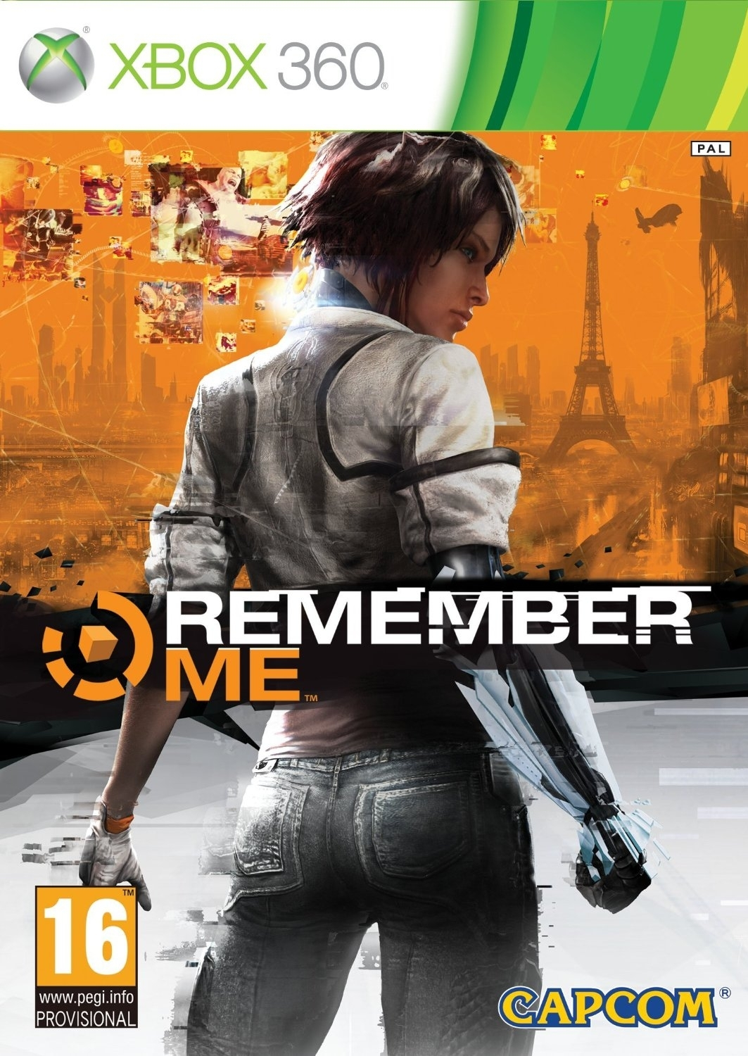 Remember Me PL / ANG (Xbox 360)