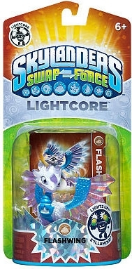 Figurka Skylanders Swap Force - FLASHWING LIGHTCORE (PS3, Xbox 360, WiiU, Wii, 3DS)