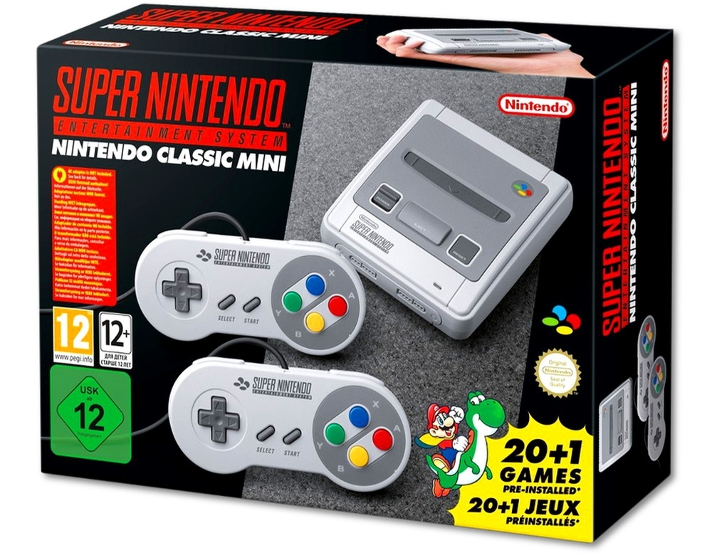 Nintendo Classic Mini SNES (Super Nintendo Entertainment System)