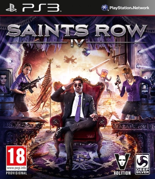Saints Row IV (PS3)