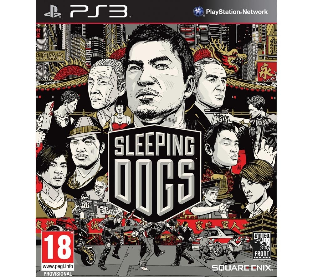 Sleeping Dogs ANG (PS3)