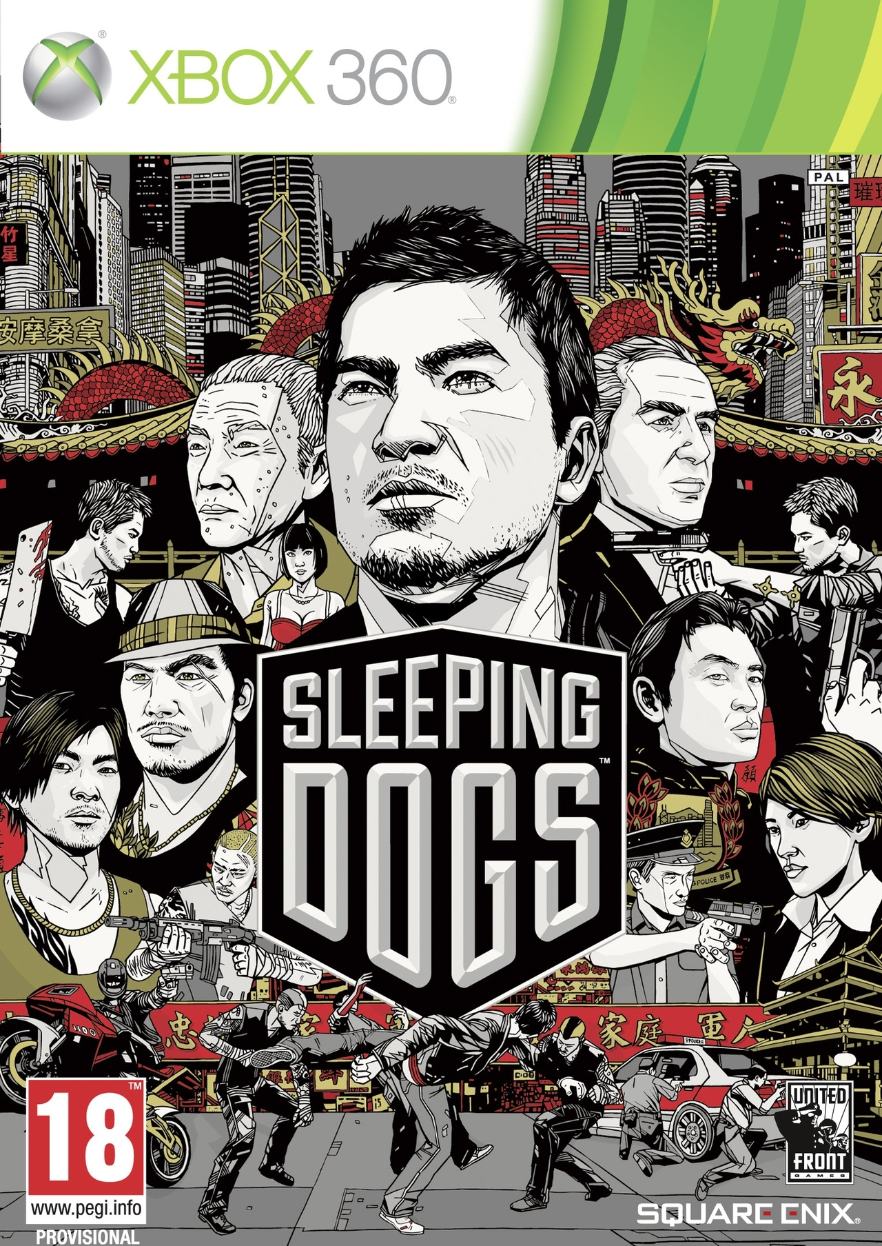 Sleeping Dogs ANG (Xbox 360)