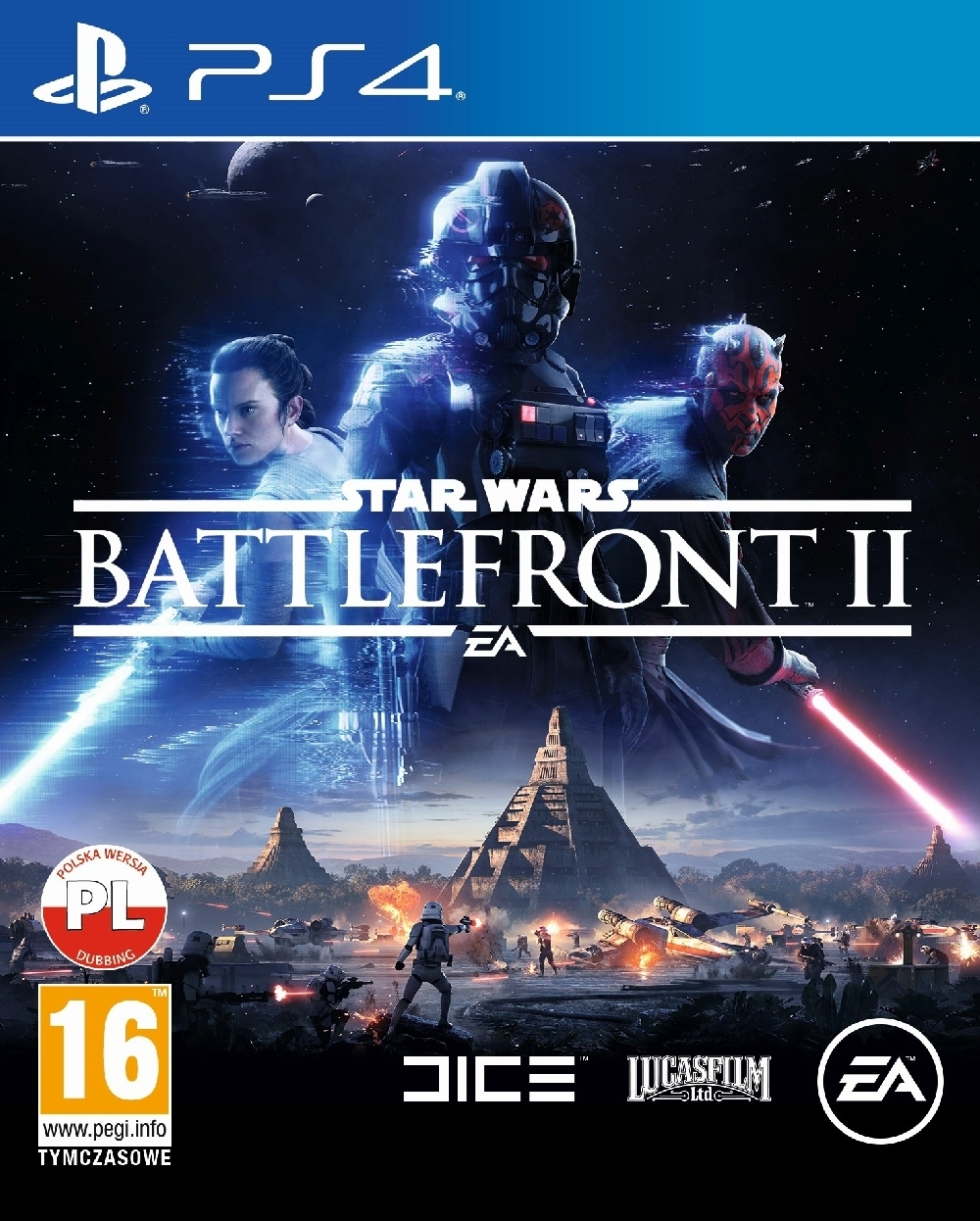 Star Wars Battlefront II 2 PL  (PS4)
