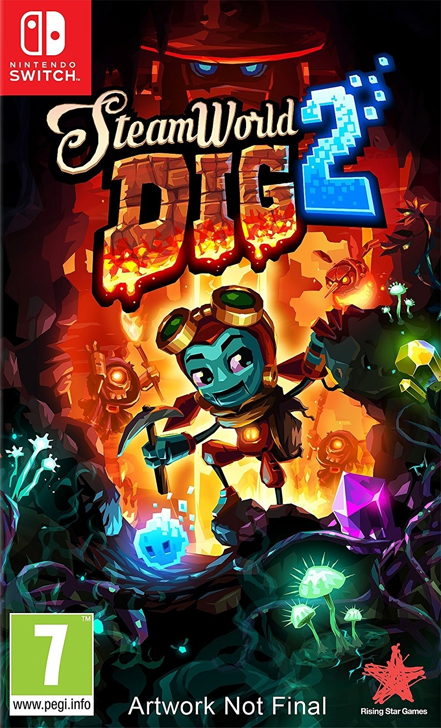 Steam World Dig 2 Nintendo Switch