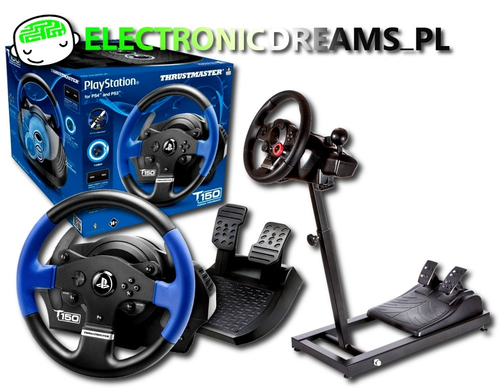 Kierownica Thrustmaster T150 RS  (PS3 / PS4 / PC) + Stojak Wheel Stand GT