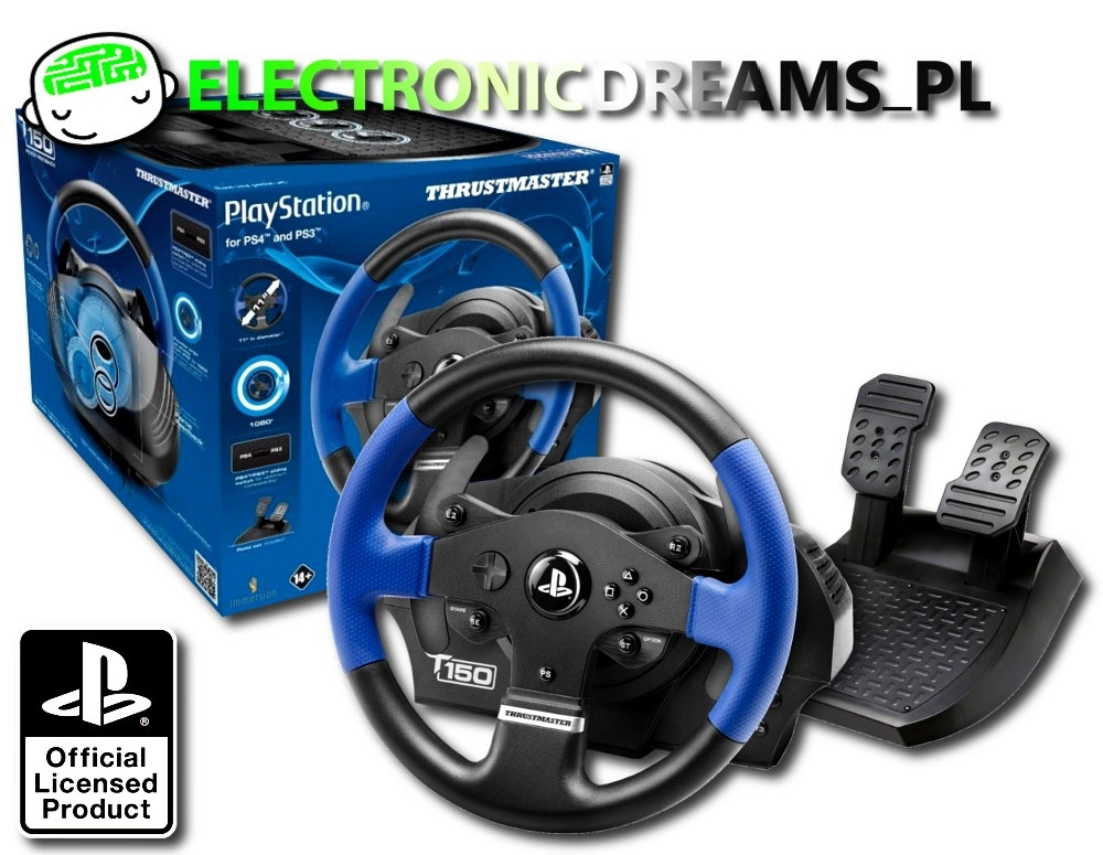 Kierownica Thrustmaster T150 RS (PS3 / PS4)