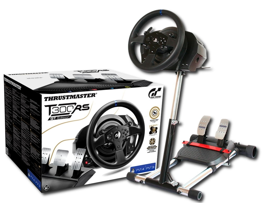 Zestaw Kierownica Thrustmaster T300 RS GT + Stojak (PS3/PS4/PC)