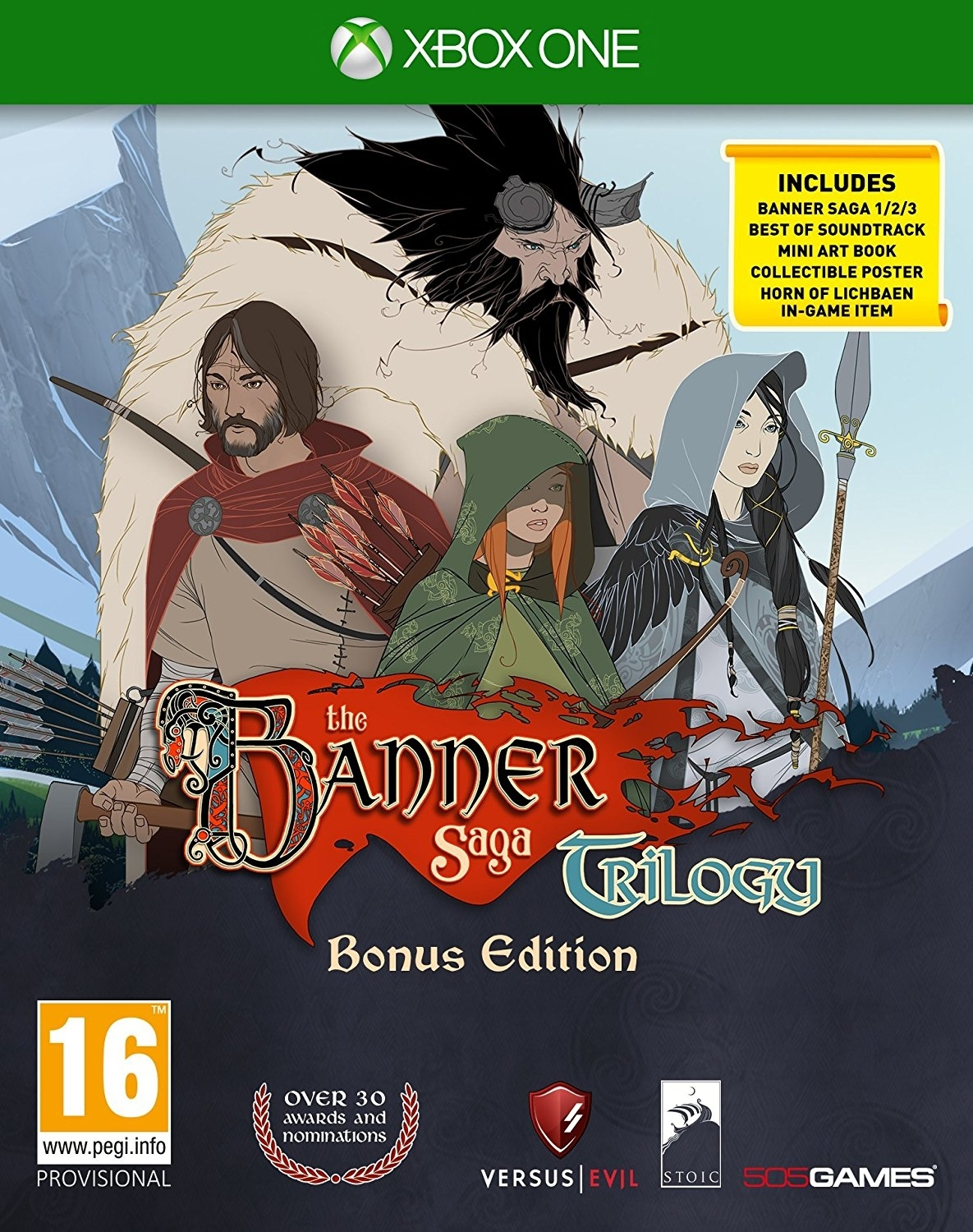 The Banner Saga Trilogy: Bonus Edition PL (Xbox One)