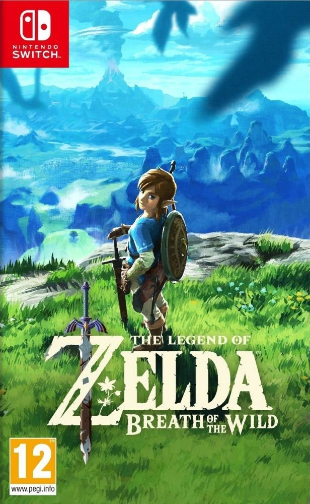 The Legend Of Zelda Breath Of The Wild Nintendo Switch (BLACK FRIDAY)