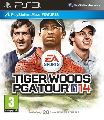 Tiger Woods PGA Tour 14 Move (PS3)